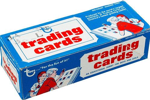 1974 Topps Basketball Vending Box: 500 Spot Random Card Group Break!