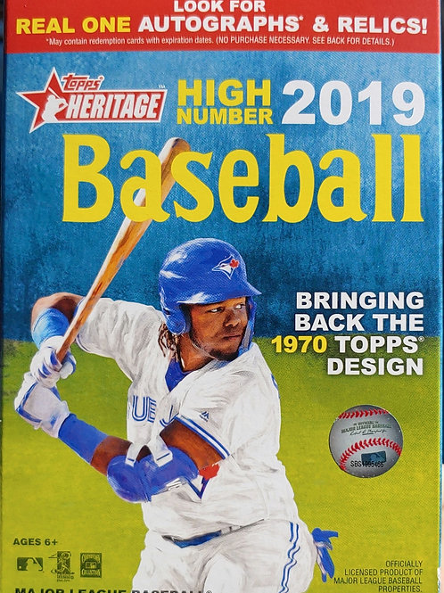 2019 Topps Heritage High # Hanger Packs (Personal Pack Only)