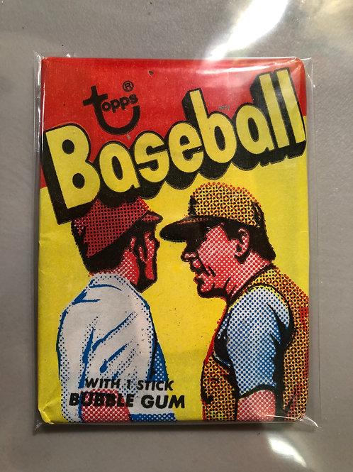 1973 Topps Baseball 4th Series Wax Pack (10 Spot Random Card Group Break)
