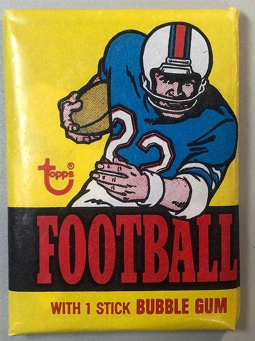 1976 Topps Football Wax Pack (Personal Pack Only)
