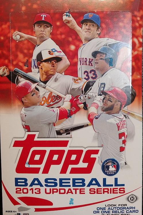 2013 Topps Update Hobby Baseball (Personal Pack Only)