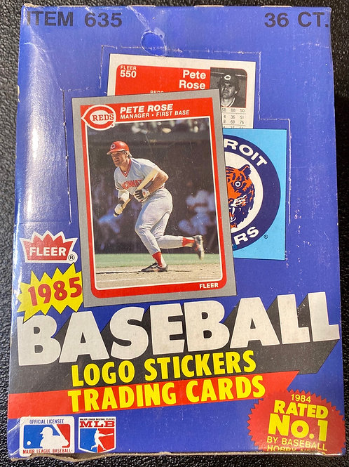 1985 Fleer Baseball Wax Pack (Personal Pack only)