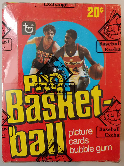 1978 Topps Basketball Wax Pack (Personal Pack Only)