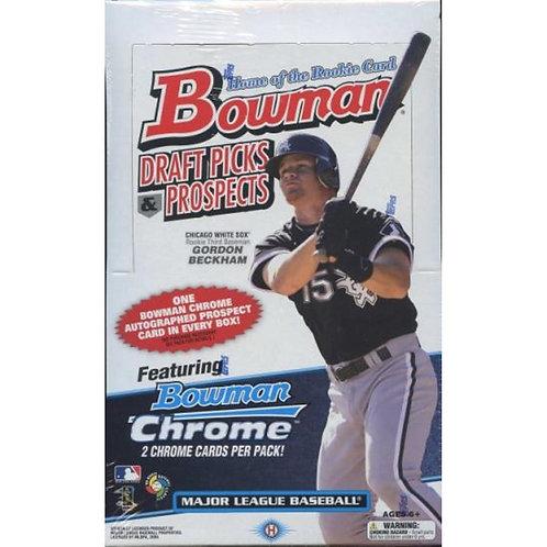 2009 Bowman Draft Hobby Baseball: 24 Spot Random Pack 1 Box Break