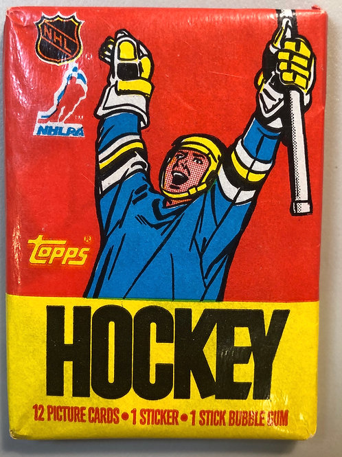1987 Topps Hockey Wax Pack (Personal Pack Only)