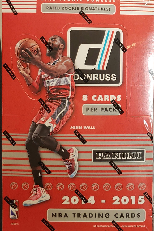 2014 Donruss Hobby Basketball (Personal Pack Only)