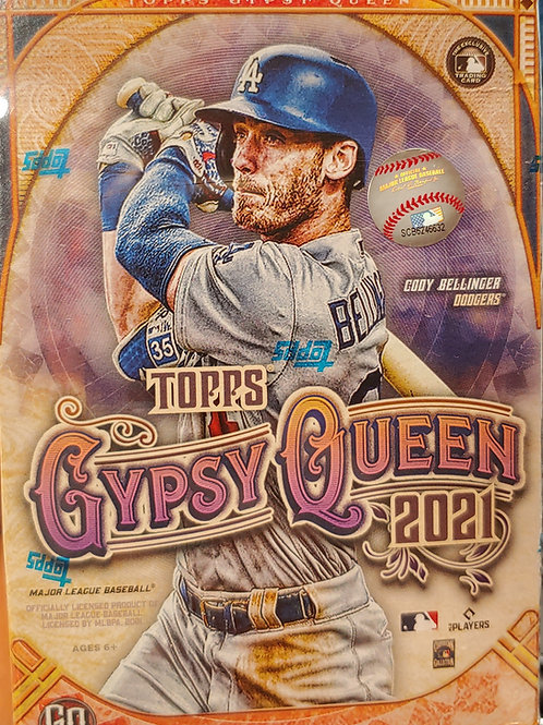 2021 Topps Gypsy Queen Baseball Blaster Pack (Personal Pack Only)