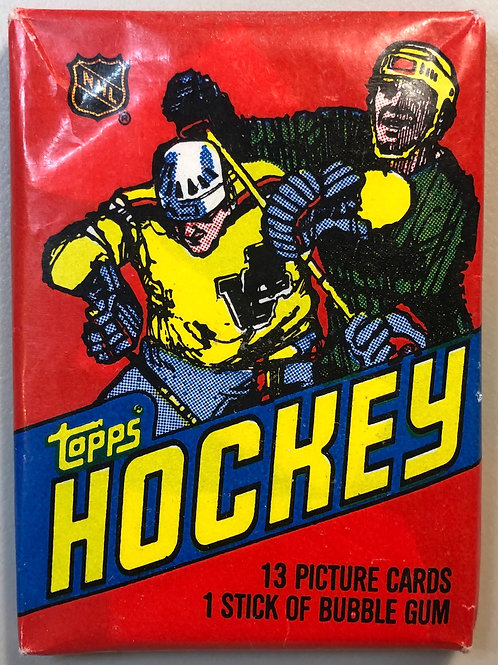 1981 Topps Hockey Wax Pack (Personal Pack Only)