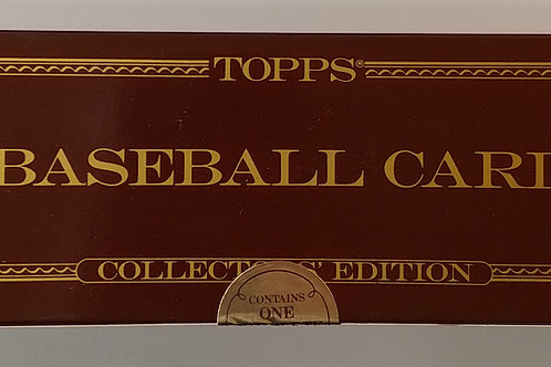 1986 Topps Baseball Sealed Tiffany Set