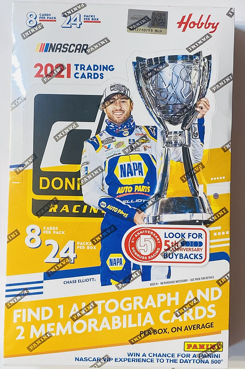 2021 Donruss Racing Hobby (Personal Pack Only)