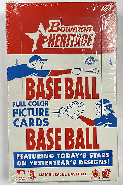 2006 Bowman Heritage Baseball (Personal Pack Only)