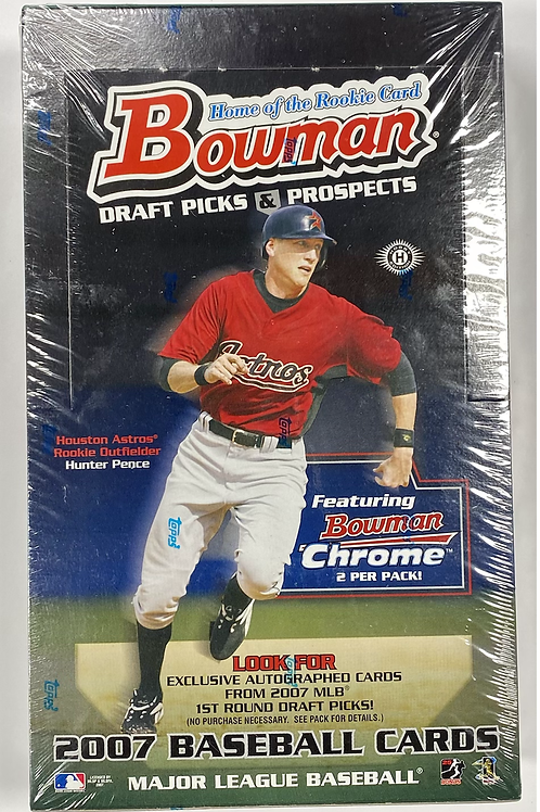 2007 Bowman Draft Baseball Hobby (Personal Pack Only)