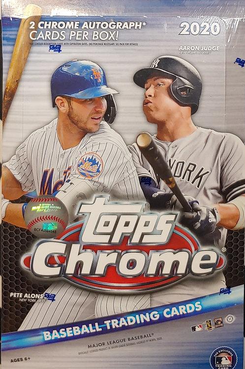 2020 Topps Chrome Hobby Baseball (Personal Pack Only)
