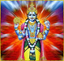 Dhanvantari dieu de la médecine ayurvédique