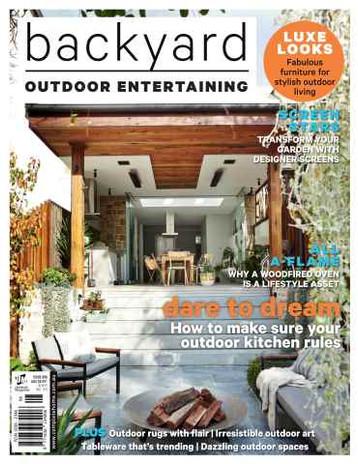 Backyard Outdoor Entertaining Magazine Edition 8 Photographer Patrick Redmond