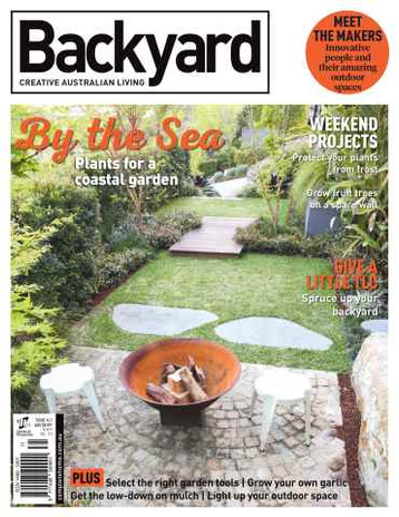 Backyard Creative Australian Living Magazine Issue 14.1 2016 PhotographerPatrick Redmond