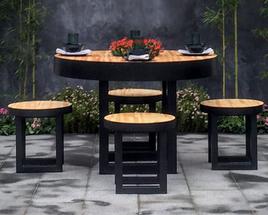 Mandala Outdoor Table Setting