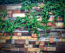 Recycled timber panel