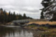 Pont Bathurst Lake Mont Carleton