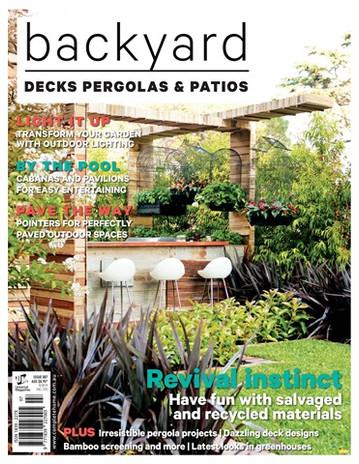 Backyard Decks Pergolas & Patios Magazine July 2017 Photographer Patrick Redmond
