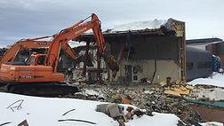 Shear Demolition Centre hospitalier Restigouche