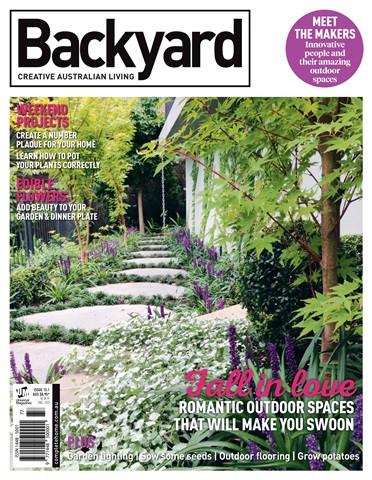 Backyard Creative Australian Living Magazine Edition 15.1 2017 Photographer Paal Grant Designs & Huis Ten Bosh