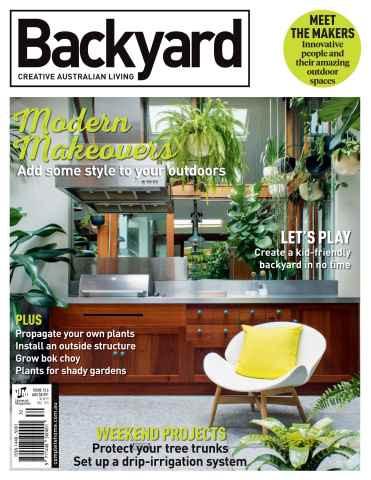 Backyard Creative Australian Living Magazine Issue 13.6 2016