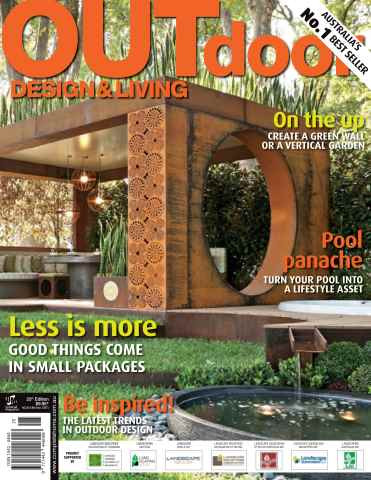 Outdoor Design & Living Magazine Edition 25 2012 Photographer Patrick Redmond