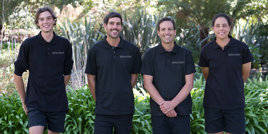 Paal Grant Designs in Landscaping team
