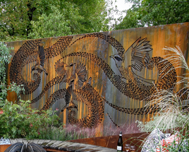 The Garden of the Little Wattlebird Limited Edition Artwork.