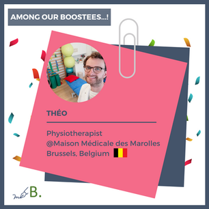 One of our Boostees: Théo!