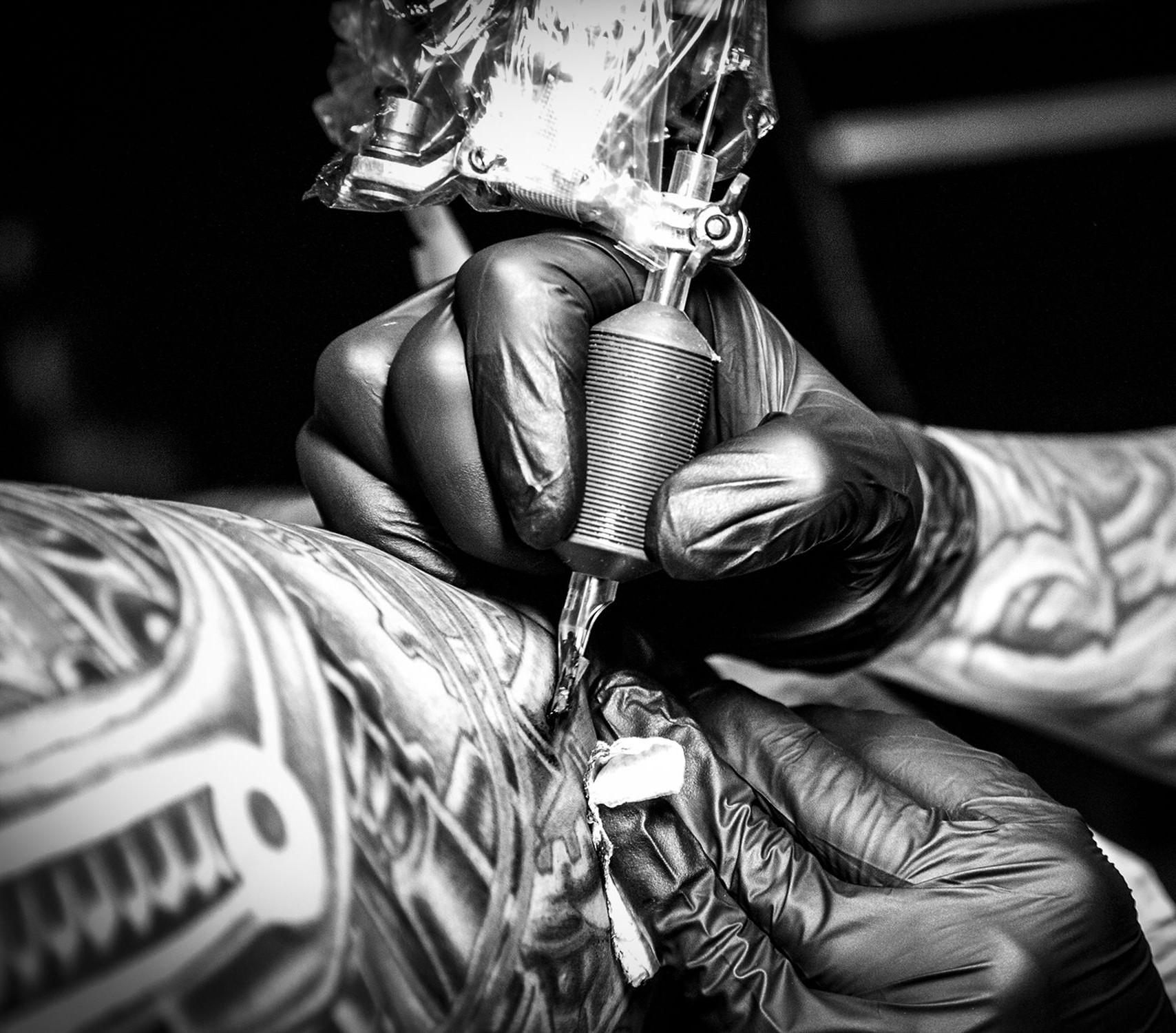 One Hour Tattoo Sitting With Daz