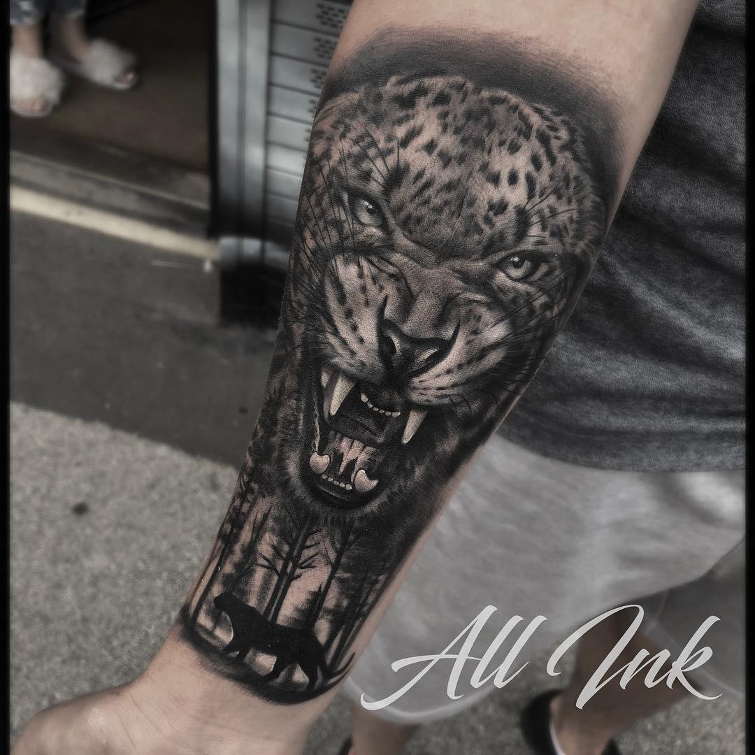 Portrait Tattoo Ink Mr Feel Skin