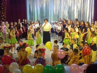 Отчетный концерт хореографической студии «Грация»