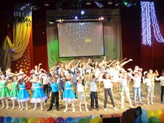 Отчетный концерт в/к«Капель»