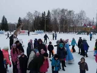 мероприятие «Зимние забавы»