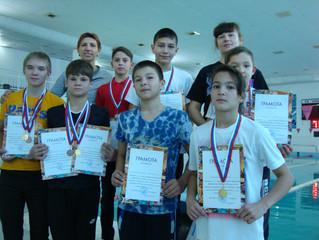 соревнования пловцов ДД(Ю)Т