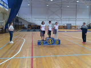 Юные победители Зимнего Чемпионата и Первенства Туймазинского района по легкой атлетике.