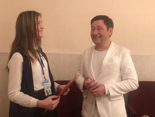 """Корреспонденты школы журналистики""""MediaStart"""" взяли интервью у звёздных гостей нашего горо"""