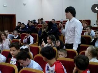Пресс-конференция с тяньцзиньской хоккейной командой