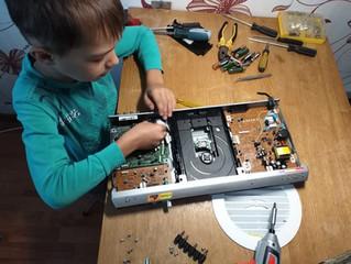 Изобретать – естественное состояние всех детей.