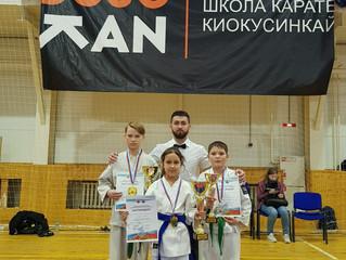 Наши юные каратисты стали победителями и призерами Первенства РБ по каратэ