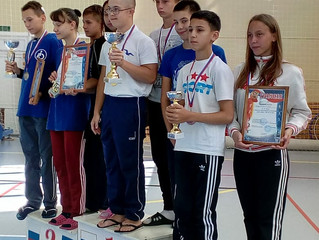 Зональные соревнования по плаванию среди детей ОВЗ до 18 лет