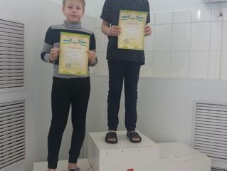 Соревнования по плаванию, посвященные Дню Космонавтики.
