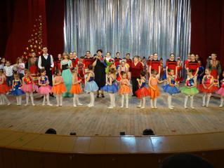 """Отчетный концерт ансамбля танца  """"Родник»"""