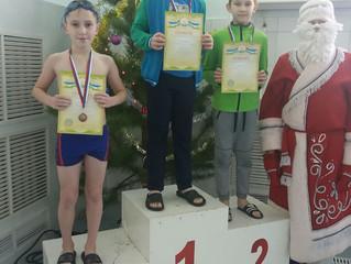 Соревнования по плаванию на призы Деда Мороза