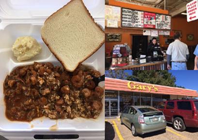 Rice and Gravy at Gary's