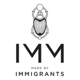 IMM Shoes Logo, Made by Immigrants