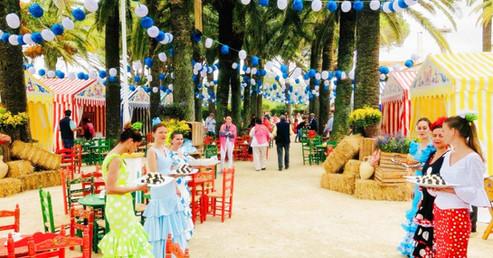 Private Feria auf dem Landgut Los Alburejos