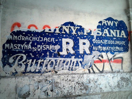 Lviv's Prewar Ghost Signs